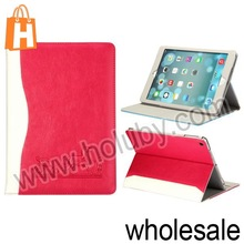 Double Color Horse Design Flip Stand Wallet Leather Case for iPad Air