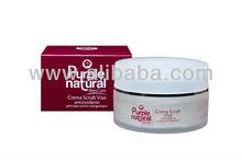Facial scrub cream antioxidant