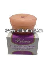 Rebecca All-In-One Skin Renew with Grape Seed Extract, Aloe Vera, Rose Oil, Plant Squalene Cream 100ml