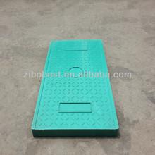 En124 Rectangle 300*450mm SMC Composite/Polymer/Plastic Manhole Cover