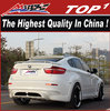 Body kit for bmw x6 2008-2013 X6/X6M to HM body kits middle muffler wide body
