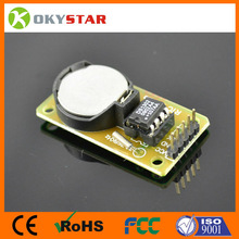 Real Time Clock Module DS1302 with Battery CR2032 for Arduino