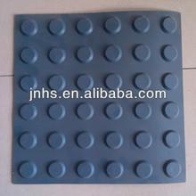Sidewalk Blind Tactile Rubber Brick