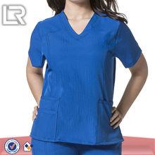 100% Polyester Hospital Designer Nursing Uniforms Scrubs