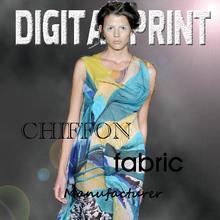 high quality custom silk in digital print/ X125