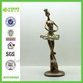 dança lembrança resina estátua de bailarino estatueta