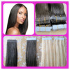 Hot beauty 100% unprocessed human hair skin weft tape hair extensions in Qingdao