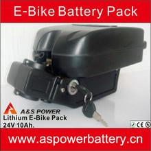 hot sale e-bike battery 24 volt lithium battery pack