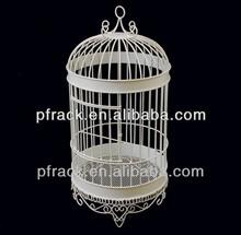 Simple European elegant decorate wholesale decorative bird cage materials PF-E711