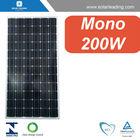 Fotovoltaic panel 200W A grade Photovoltaic Mono PV module