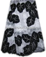 glorious velvet design black stretch lace fabric