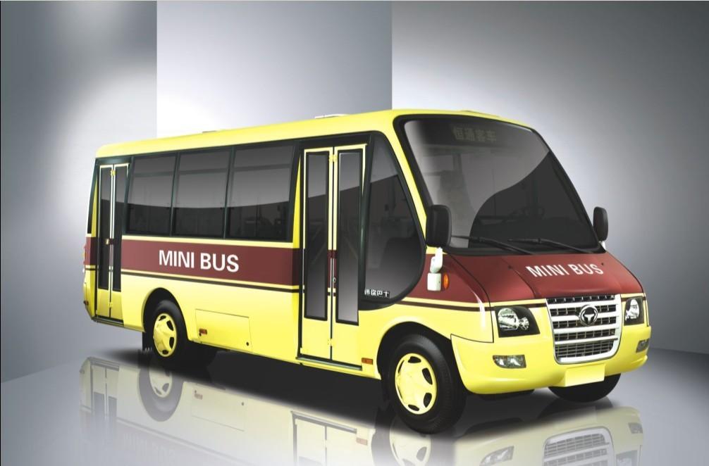 China hengtong diesel mini bus (CKZ6710)