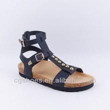 Birkenstock gladiator fashion flat summer sandals 2014 for women