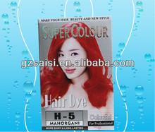 SAISI high quality the black magic combs hair dye