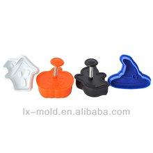 Borboleta de plástico personalizado cookie cutter mold