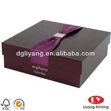 Brand paper rigid box packaging supplies