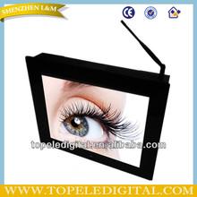 17 inch wifi lcd digital advertising display,wall lcd ad video display,loop video advertising display