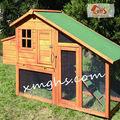 al aire libre casa de la gallina