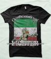 Mexikanische flagge Kämpfer t-shirt