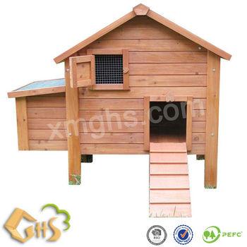 Huehnerstall mit Nestbox