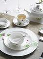 A045 haute vaisselle de Chine fin fine utilisée