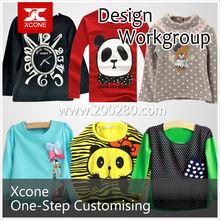Favorites Compare 100% cotton branded new children T shirt
