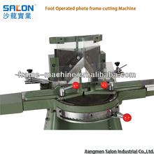 Jiangmen Salon Foot Operated photo frame cutting Machine