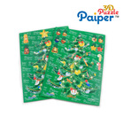 Christmas tree puzzle model easy make paper toy
