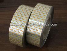 NON-Easy peel food packing heat sealing aluminum plastic roll film