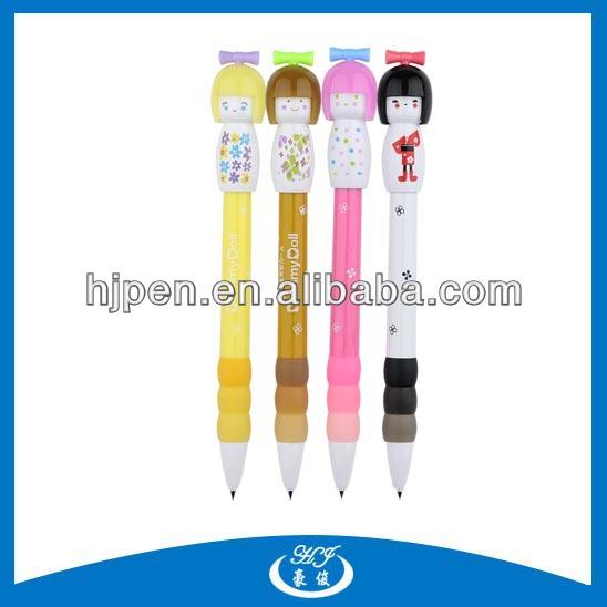 Multi Color Cheap Plastic Cute Cartoon Ballpen