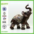 Brown Hotsale resina mesa elefante ornamento