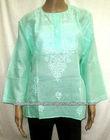 High Quality Chikan Kurtis Ladies Designer Top Tunic Kurta 2013