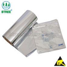 Btree Electrostatic Discharge Aluminum Foil Roll For ESD Moisture Barrier Bag
