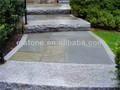 Baratos exterior natural escadas de granito/passos com certificado do ce
