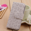 for apple iphone 5 leopard grain fashionable case leather for phone case accept small mix order