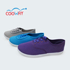 Lace-up comfortable casual canvas shoes made in china
