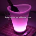 Battreie rechargeable Li-on seau à glace de champagne plastique