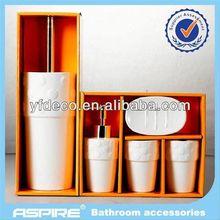 Houseware rubber coating bath sets