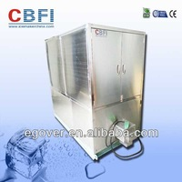 Large ice cube making machine for hotels, night clubs and bars