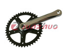 Junzhuo brand bicycle single speed chainwheel and crank