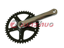 hot selling high quality low price bicycle single speed chainwheel and crank with fashion design made in china
