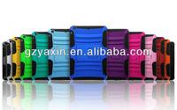 Belt clip case for ipad mini,Wholesale heavy duty hybrid kickstand case cover