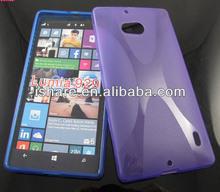 X line TPU gel silicone case for Nokia Lumia 929 case