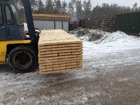 White wood sawn timber from Ukraine (pine timber)