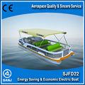 barco de Pontón eléctrico