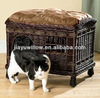 Practical wicker pet carrier basket for birthday gifts