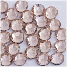 special color lt.peach dmc wholesale korean hotfix rhinestones