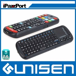 Best-selling iPazzPort Cheap Smart TV remote keyboard wireless mouse and keyboard