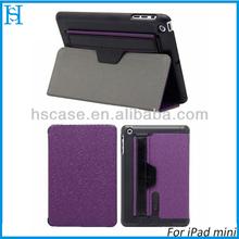 Audio Amplifier Hand Strap Case Leather Cover for iPad mini Retina 2