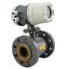 Conductive liquid flow meter electronic solution flow meter